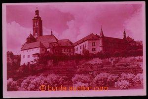 27636 - 1938? Kutná Hora, pohled na Vlašský dvůr, červeně tónovaná f