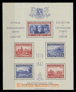 27638 - 1943 AS1 London MS, perf, light shifted perforation and on/f