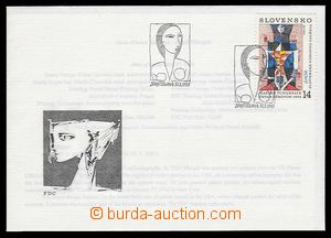 27643 - 1993 FDC Zsf.13, incl. insert, very fine, c.v.. 180Sk