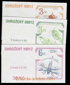 27646 - 1995 comp. 3 pcs of ZS36 + 37 + 38, very fine, c.v.. 260CZK