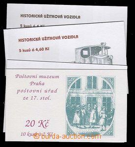 27647 - 1993-97 comp. 4 pcs of ZS25, ZS57 + 58 + 59, very fine, c.v.