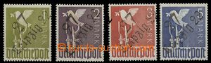 27683 - 1945 RUSSIAN ZONE  stamps with overprint 27 Leipzig 22, on s