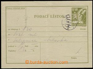 27789 - 1946 CPL4 s DR Svit 10.VIII.46, přeložený. Kat. 400Kč