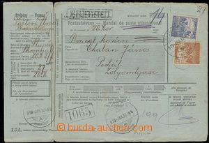 27793 - 1919 celá uherská mezinárodní peněžní poukázka z r.