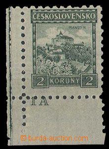 27817 - 1926 Malé krajinky, Pof.221, bez průsvitky, na průsvitné