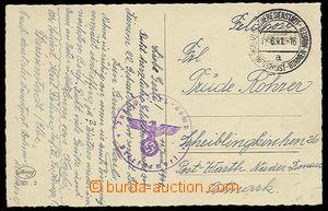 27857 - 1941 pohlednice bez výplatného zaslaná příslušníkem o