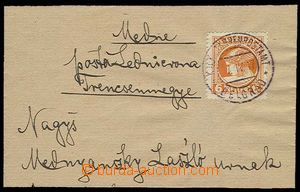 27914 - 1917 whole newspaper wrapper franked with. newspaper stamp.