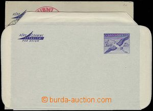 27923 - 1959-69 CAE1A, 2 pcs of with various shade blue color, both