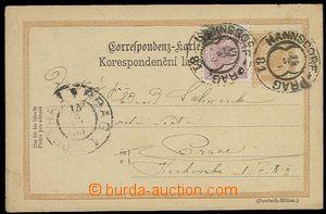 27937 - 1900 VLP č.81 HANNSDORF - PRAG/ 14.3.00, Vot.3231/15, dva o