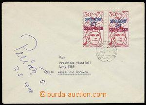 27954 - 1978 PELČÁK Oldřich (*1943), Czech astronaut, letter with si