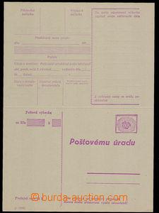 27994 - 1956 stationery CPV26e, (I-1956), unfolded, very fine, cat.