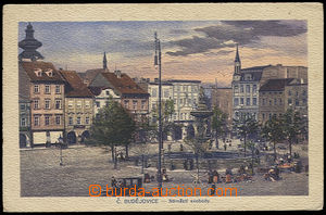 28003 - 1919 České Budějovice, color, single-view, Freedom Sq., Us,
