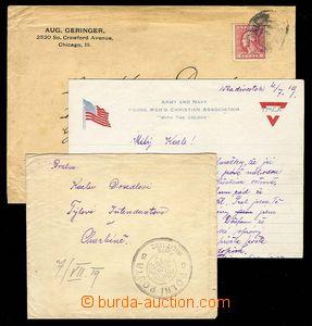 28038 - 1919 RUSKO  dopis s obsahem s velmi pěkným raz. PP 5 Posta