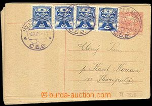 28110 - 1919-20 CZECHOSLOVAKIA 1918-39  selection 80 pcs of PC with