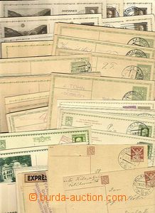 28142 - 1921 CZECHOSLOVAKIA 1918-39  selection 54 pcs of Us PC from