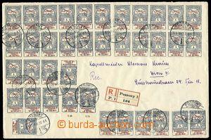 28147 - 1915 větší obálka formátu A5 vyfr. na přední straně
