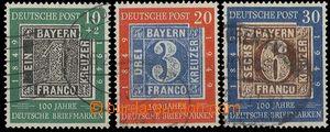 28232 - 1949 Mi.113-15, pěkné, kat. 150€