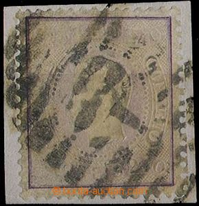 28244 - 1870 Mi.33 na výstřižku, koncová hodnota, téměř celé