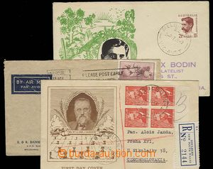 28283 - 1948-49 1x Let. dopis do ČSR, vyfr. zn. Mi.126, DR Melbourn