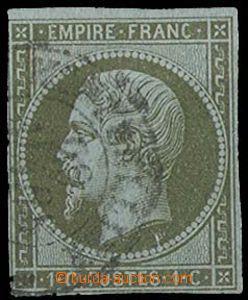28286 - 1860 Mi.10, imperforated, good margins, c.v.. 100€