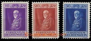 28292 - 1933 Mi.122-24, svěží, kat. 180€