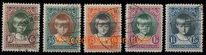28294 - 1929 Mi.213-17, nice, c.v.. 90€