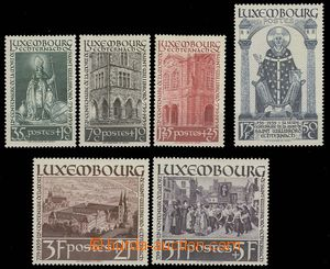 28299 - 1938 Mi.309-14, almost light hinged hinged, otherwise mint n