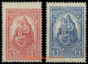28301 - 1926 Mi.428-9, missing č.427, hinged, otherwise mint never