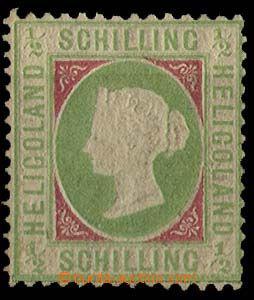 28316 - 1867 Mi.1, silnější nálepka, kat. 320€