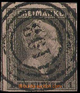 28318 - 1850 Mi.2, postmark č.193 (Brück), cat. GROBE points + 300DM