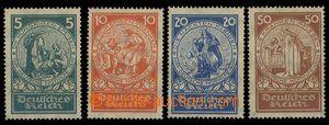 28326 - 1924 Mi.351-4, svěží, kat. 150€