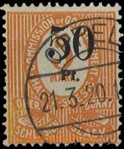 28338 - 1920 OBERSCHLEISEN  Mi.12b, typ Ia, kat. 150€
