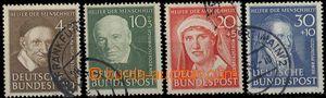 28342 - 1951 Mi.143-146, Pomocníci lidstva (II), pěkný stav, kat.