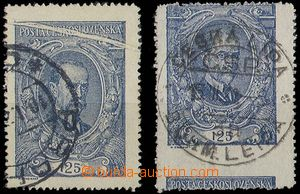 28369 - 1920 Pof.140, 125h, 2 pcs of stamp. with significant product