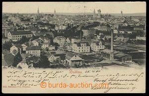 28419 - 1901 ZITTAU - čb, celkový pohled, DA, prošlé, příplatk