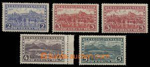 28437 - 1926 Prague - Tatras, Pof.225-28, 226 I. + T II., without wa
