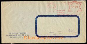 28482 - 1944 firemní podlouhlá okénková obálka se slovenským O