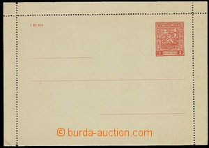 28582 - 1927 CZL2A, line perf 11½;, mint never hinged, c.v.. 28