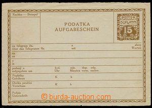 28583 - 1919 CPL1B, lehce omačkané okraje a svislé šikmé přelo