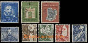 28755 - 1952-53 sestava zn. Mi.150, 161, 167-70, 171-72, kat. 160€