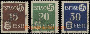 28760 - 1941 ESTLAND  Mi.1y - 3y, kat. 45€