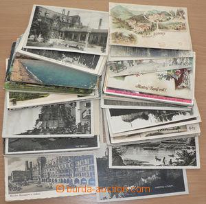 28981 - 1899-1950 POHLEDNICE  sestava 100ks pohlednic malého formá