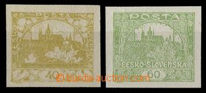 29004 - 1920 Pof.170Na, 171Na, unissued, without added print, imperf