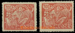 29009 - 1923 Pof.173A/ II. and T III., 1x exp. Mrňák