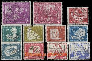 29032 - 1950-51 sestava zn. Mi.248-49, 250, 256-59, 280-81, 282-83,