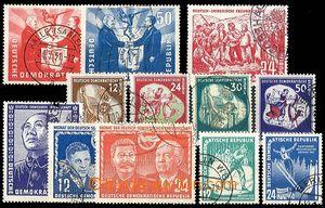 29035 - 1951-52 sestava zn. Mi.284-85, 287, 288, 289-92, 296-97, 298