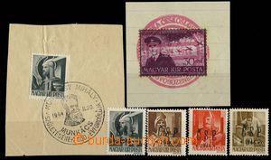 29234 - 1944 Chutský overprint, Pof.RV174, 177, 178, 181 exp. Šabl