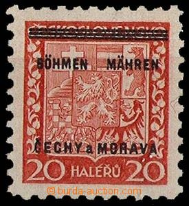 29235 - 1939 Pof.3 with plate variety missing by/on/at pos. 100, exp