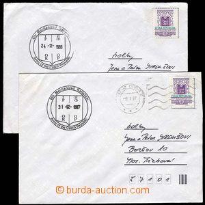 29259 - 1996-7 ČR  2ks vyfr. dopisů s raz. jednotek IFOR / 6th Mec