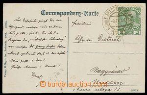 29262 - 1909 franked with. postcard with superb print cancel. K.u.K